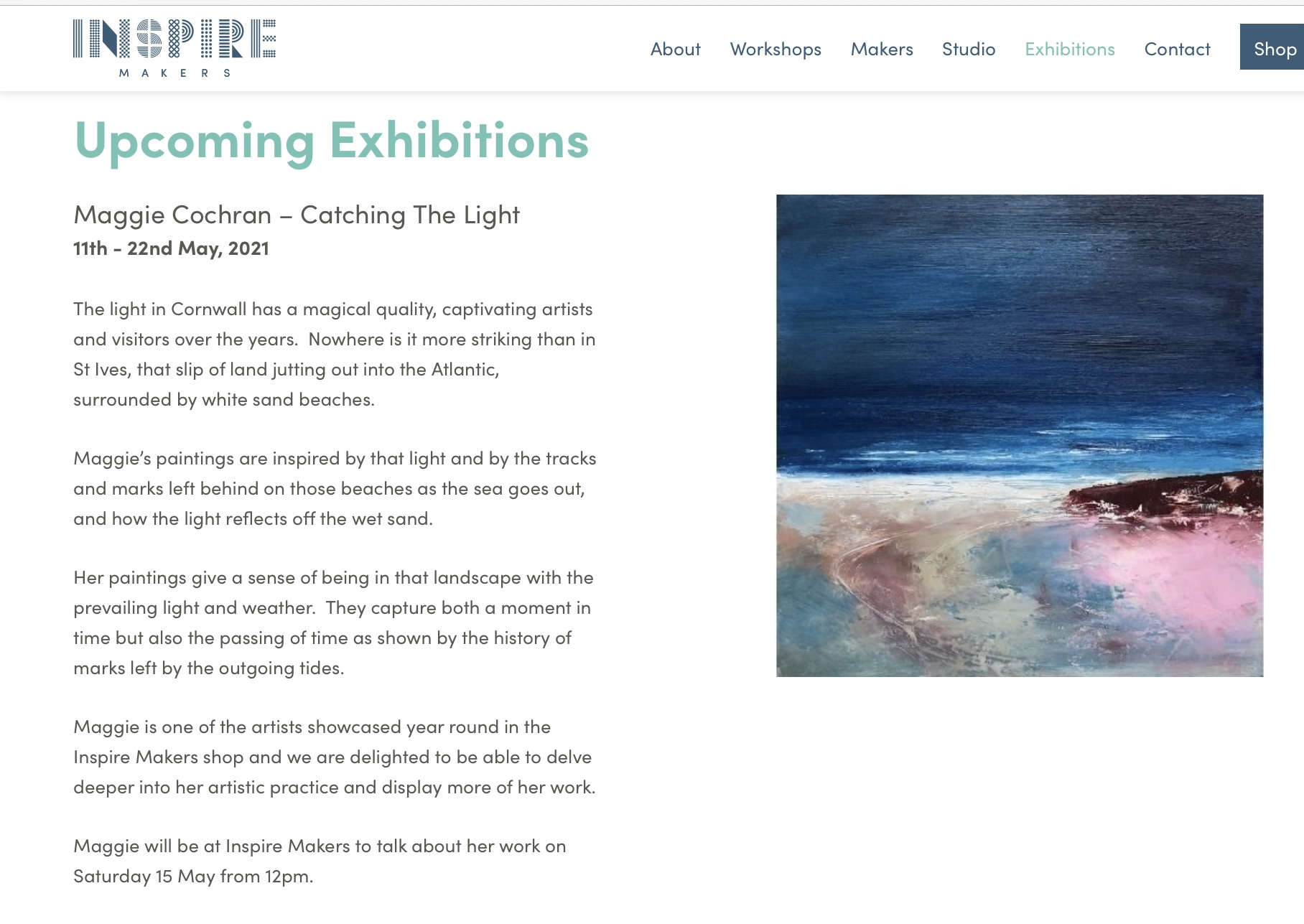 'Catching the Light' exhibition